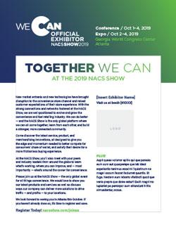NACS Show | Exhibitor Marketing Toolkit