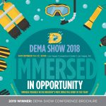2019 WINNER: DEMA SHOW CONFERENCE BROCHURE