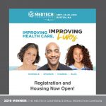 2019 WINNER: THE MEDTECH CONFERENCE EMAIL PROMOTION CAMPAIGN