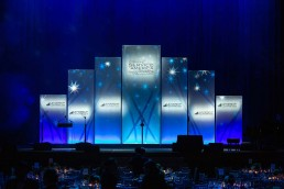 Stage at the NAB Leadership Foundation's 2019 Celebration of Service to America Awards.