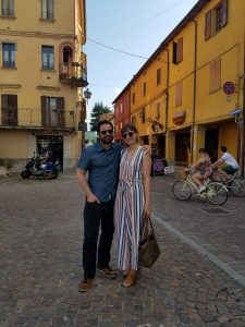 Annalisa loves to travel. She and her husband took a trip to Italy, last year.