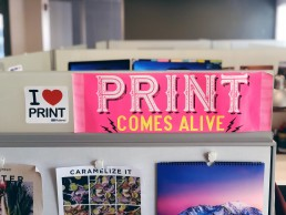 Print comes alive with direct mail marketing