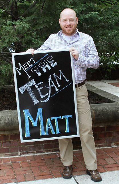 matt meet the team
